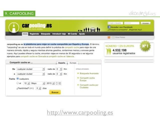 9. CARPOOLINGhttp://www.carpooling.es