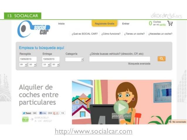 13. SOCIALCARhttp://www.socialcar.com