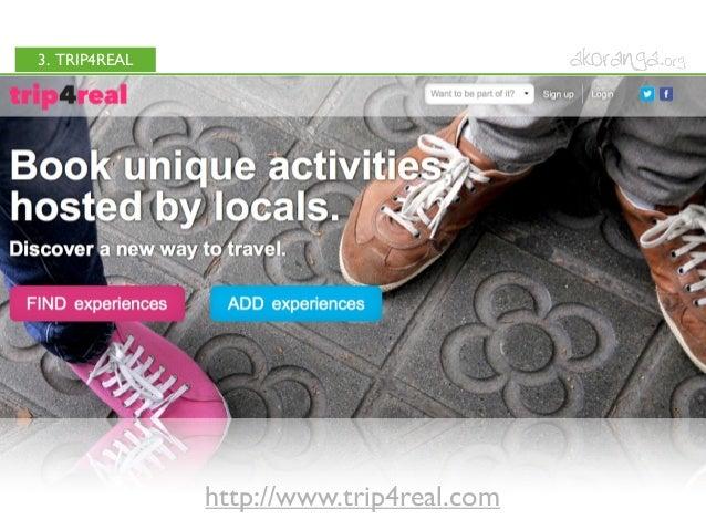 3. TRIP4REALhttp://www.trip4real.com