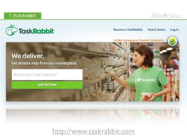 7.TASKRABBIThttp://www.taskrabbit.com