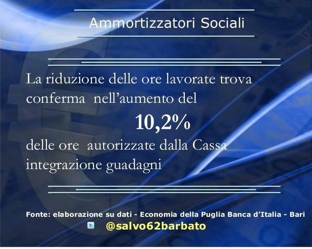 economia della puglia mercato del lavoro banca d 39 italia