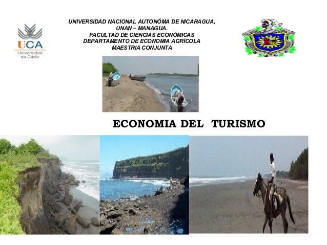UNIVERSIDAD NACIONAL AUTONÓMA DE NICARAGUA,              UNAN – MANAGUA.      FACULTAD DE CIENCIAS ECONÓMICAS    DEPARTAME...
