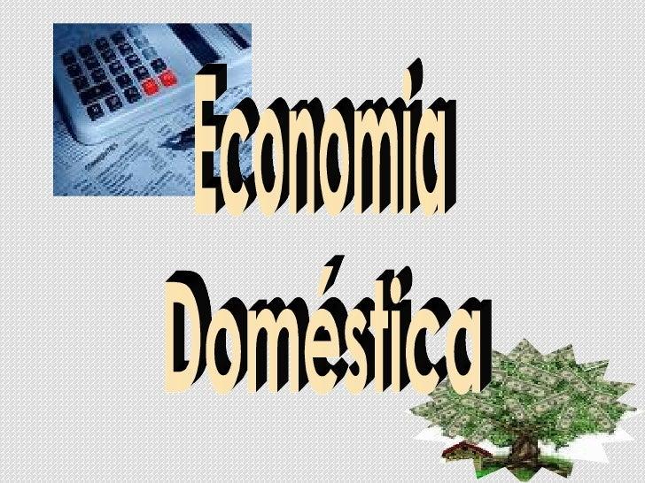 Economia Doméstica