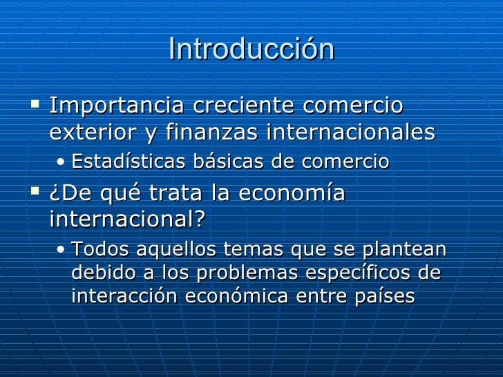 Diapositiva 1 comercio internacional camara de comercio for Comercio exteriro