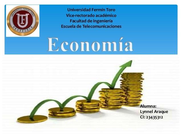 Alumna: Lynnel Araque CI: 23435312 Universidad Fermín Toro Vice-rectorado académico Facultad de ingeniería Escuela de Tele...
