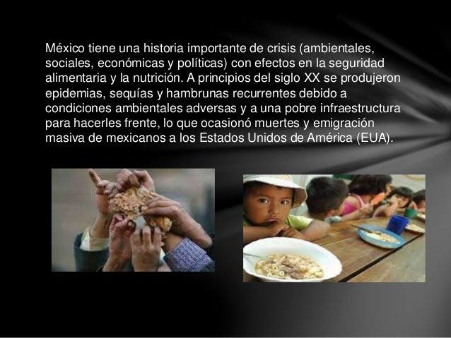 México tiene una historia importante de crisis (ambientales, sociales, económicas y políticas) con efectos en la seguridad...