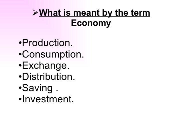 What is Economy Slide 2