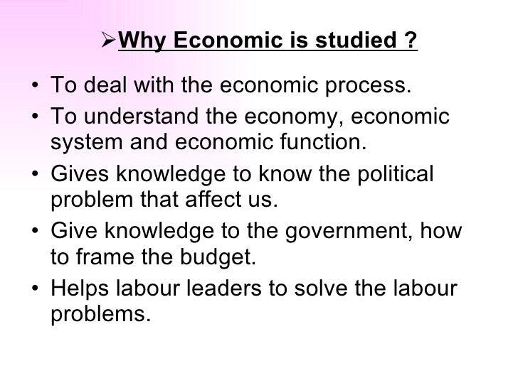 What is Economy Slide 3