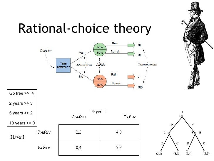 a history of the rational choice theory Logic on which rational choice theory is itself founded in particular, the paper will focus on the study of political beliefs3 understandably, the theory.