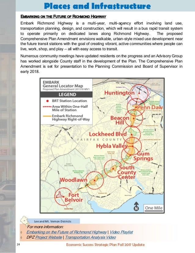Fairfax County Economic Success Strategic Plan Fall 2017 Update
