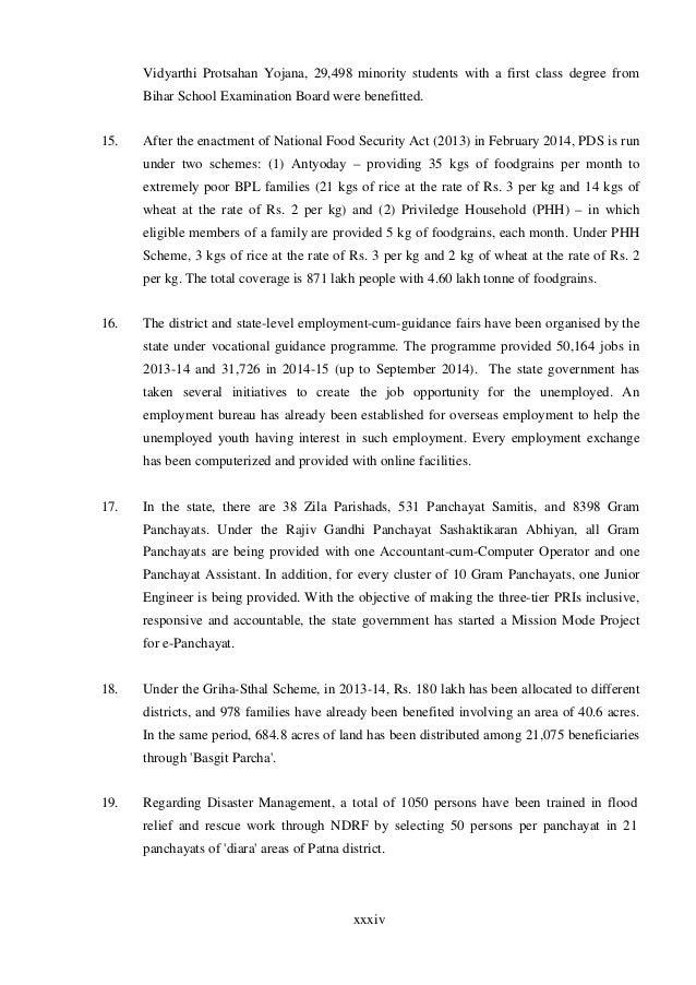 Economic survey of bihar 2015 under mukhyamantri alpsankhayak 39 xxxiv spiritdancerdesigns Gallery