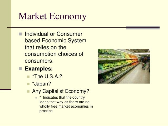 what is the definition for market economy