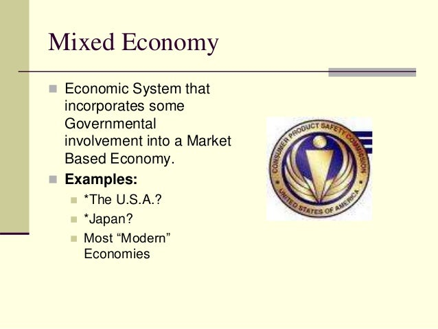 Mixed Economic System