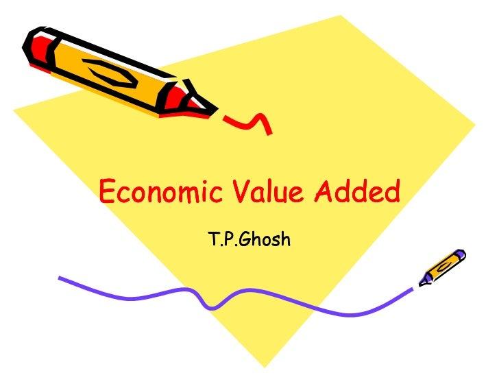 Economic Value Added       T.P.Ghosh