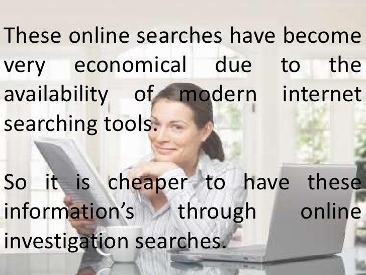 Economical Ways of Doing Online Investigations Slide 3