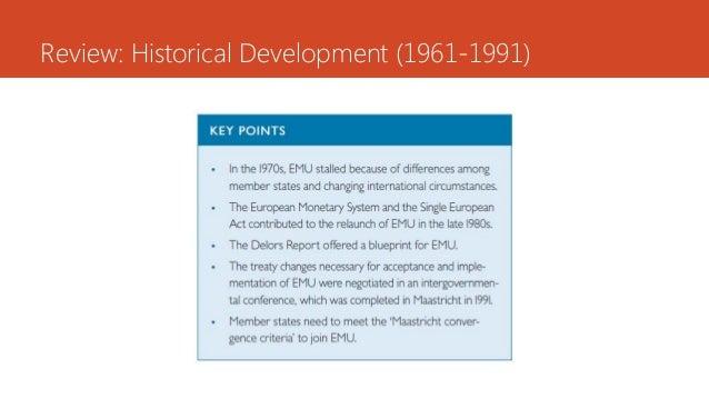 Review: Historical Development (1961-1991)