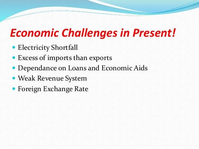 economic challenges of pakistan essay