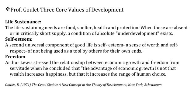 question define economic growth and development Economic development is a much broader concept than economic growth based   one of the most compelling definitions of development is that proposed by.