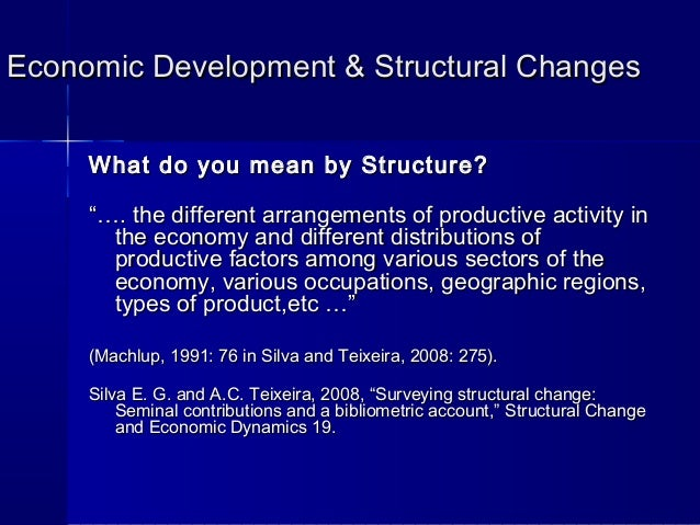 economic growth technology and structural change Learn about how the jobless growth economy affects expansion and contraction of the economy a structural change improvements through technology.