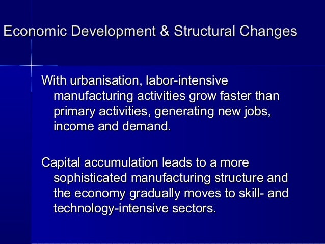 economic growth technology and structural change Video created by the hong kong university of science and technology for the course china's economic transformation part 1: economic reform and growth in china in this module, we will focus on china's economic growth and structural change.