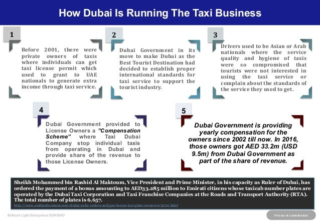 Proposal for New Economic Direction for taxi services in