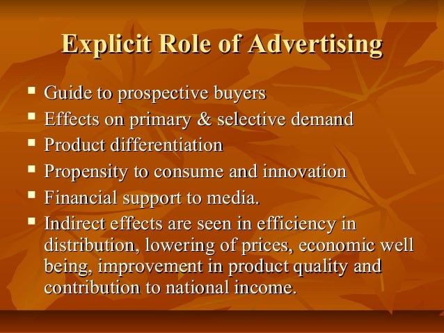 effects of advertising Economies of scale are evident when a firm's average costs decline while its  output expands, as when an advertising agency raises its gross income by  serving.