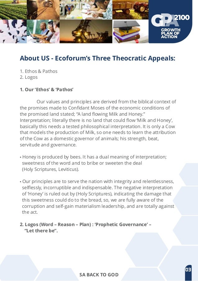 Economic emancipation forum manifesto