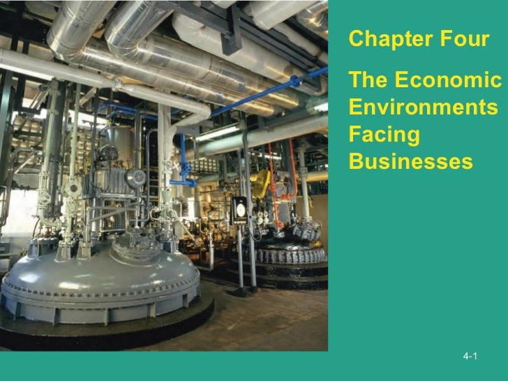 4- Chapter Four The Economic Environments Facing Businesses