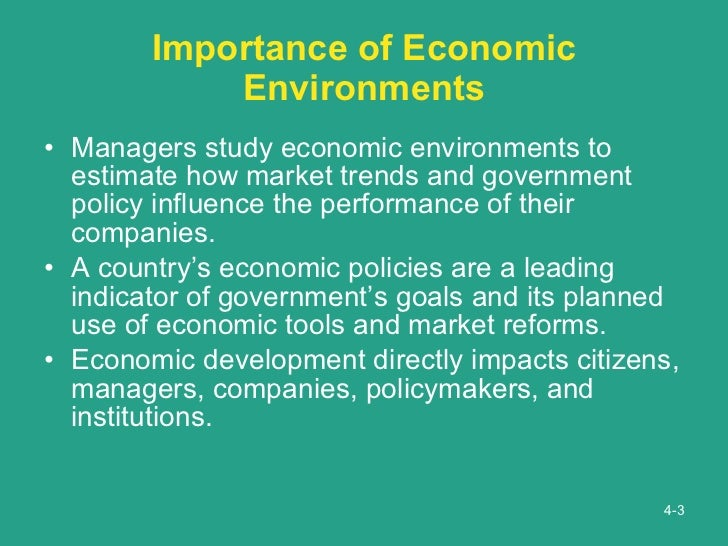 the importance of the study of economics It's the study of scarcity for more topics that economists study why should i care about economics economics affects everyone's lives.