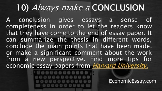 economics 10 essay I first encountered robbins' essay as an undergraduate in 1949 i was mightily   r the london school of economics and political science 2009  page 10.