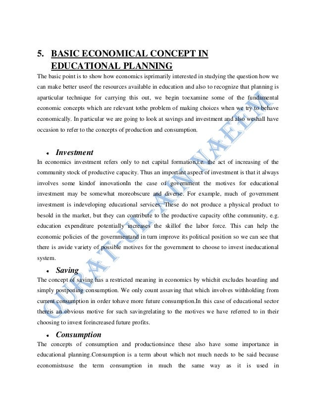 education as consumption and investment pdf