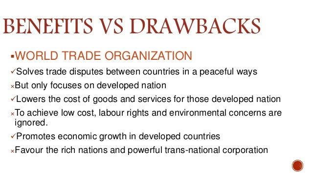 drawbacks of globalization