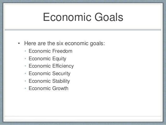 career goals in economics What is the goal of economics march 6, 2012 by trivium this is a good question to ask, if only because one can go through many years of economic.