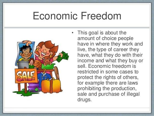 Economic Freedom  E2 80 A2 This Goal