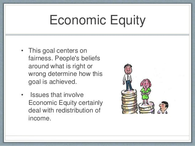 Economic Equity  E2 80 A2 This Goal