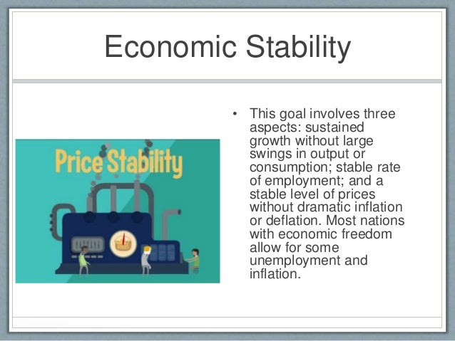 Economic Stability  E2 80 A2 This Goal