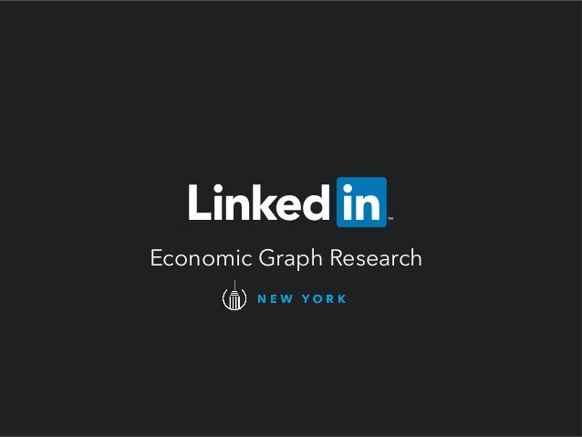 Economic Graph Research