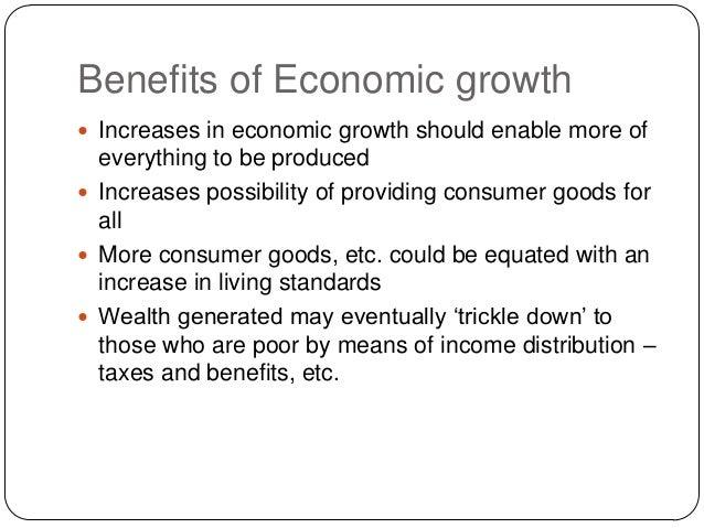 benefits of economic growth