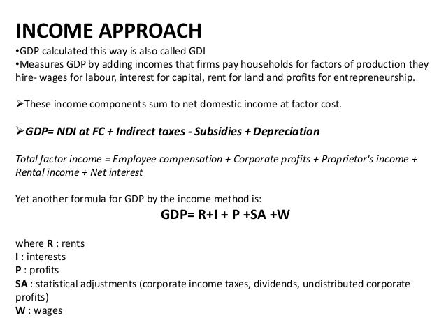 one approach to gdp essay What could amazon's approach to health care look it is clear that amazon sees the 18% of us gdp dedicated to health care as fertile one of the most.