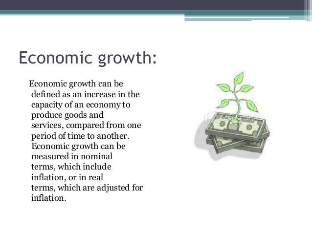 can development be measured by economic Economic growth can be measured in nominal terms, which include inflation, or in real terms, which are adjusted for inflation since savings and investment are necessary to engage in research and development the last method is increased specialization.
