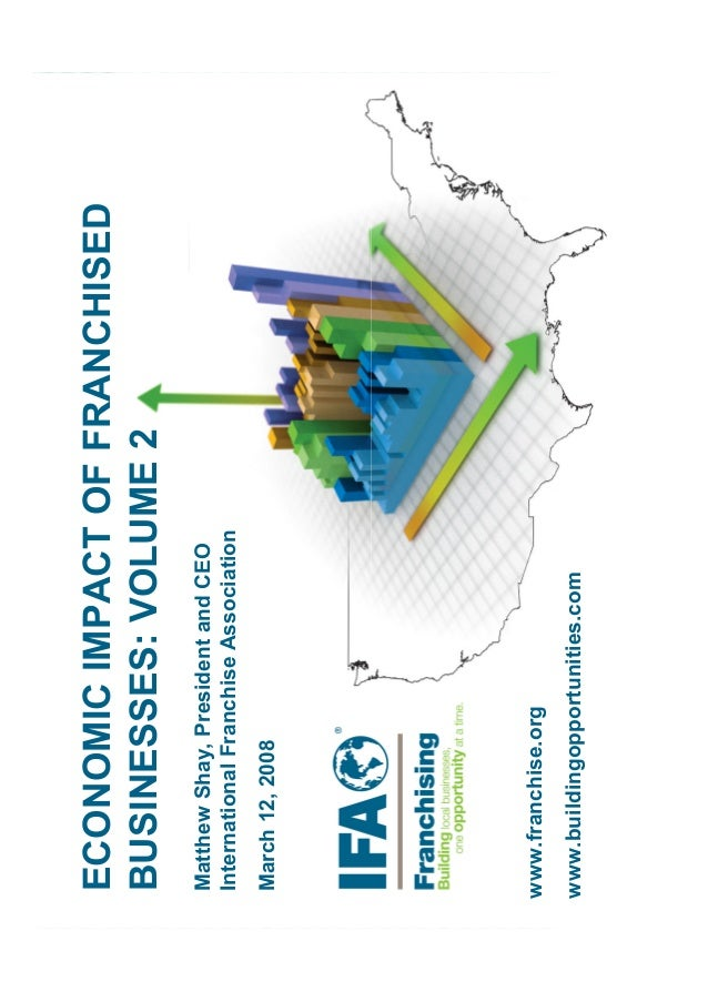 ECONOMICIMPACTOFFRANCHISED BUSINESSES:VOLUME2 ECONOMICIMPACTOFFRANCHISED BUSINESSES:VOLUME2 MatthewShay,PresidentandCEO In...