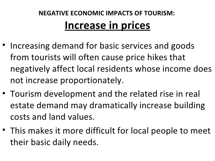 environmental effects of tourism on thai The third national economic and social development plan of 1972—a staple of thai policy development since the first plan was released in 1961—had also aimed at.
