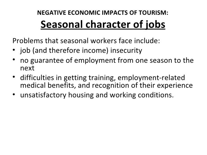 impact of tourism Positive and negative economic impacts of tourism in kenya the positive and negative impacts of tourism introduction what comes to mind when you think about tourism.