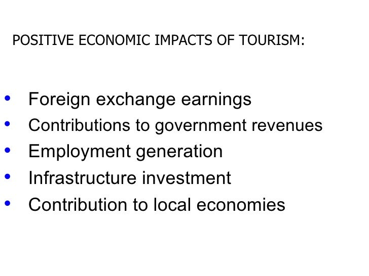 positive impacts of tourism in germany Gender and the political economy of sex its health and socio-economic impacts and the government gender and the political economy of sex tourism.