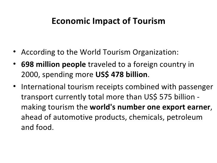 global tourism negative impacts of tourism Negative socio-cultural impacts from tourism   america this is an important  pillar of the global sustainable tourism review (gstr), led by albert salman.