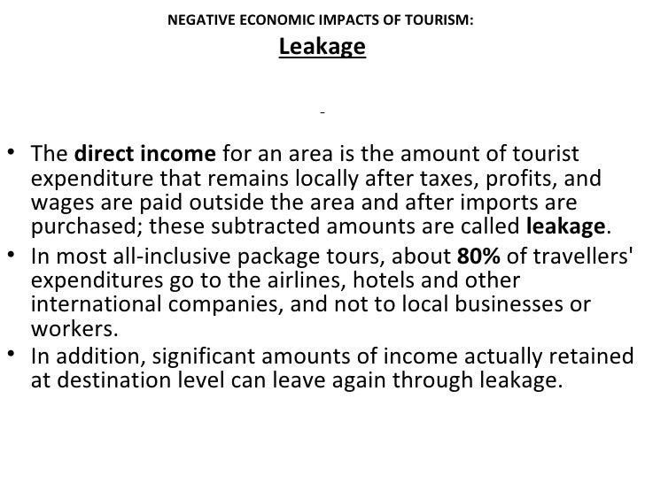 economic impact of tourism essay