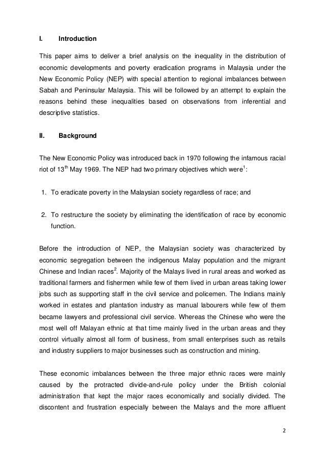 Term papers on economics