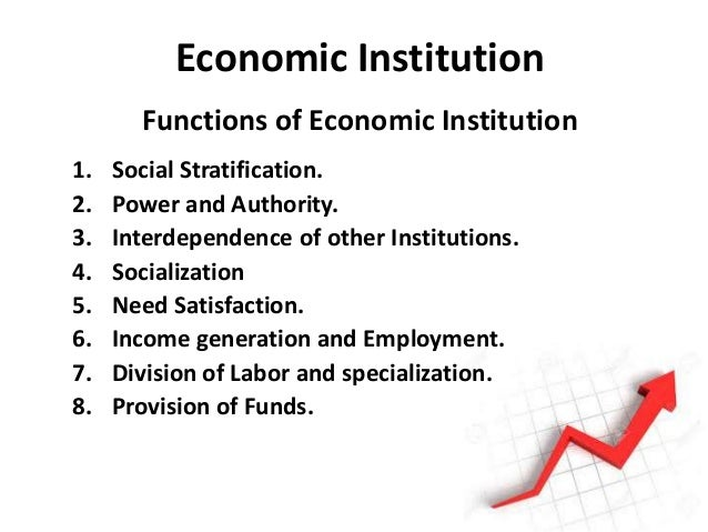 functions of institutions