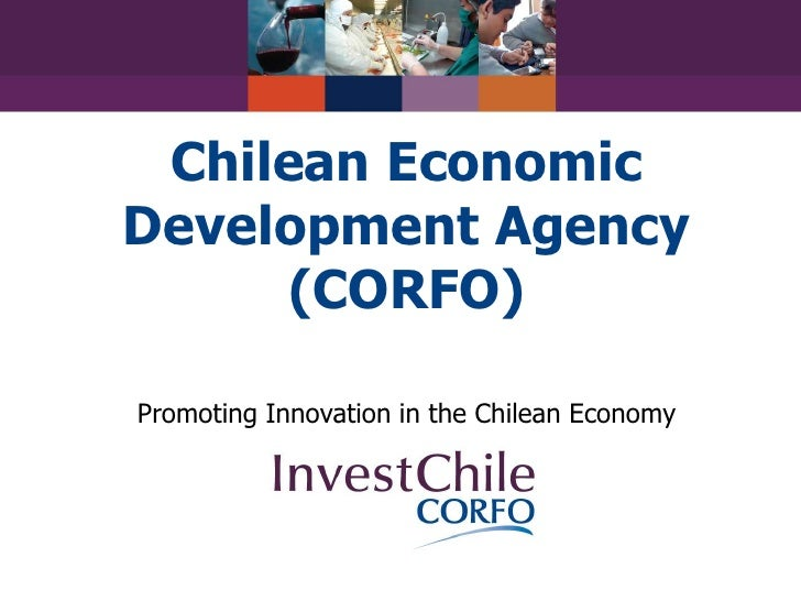 Chilean Economic Development Agency(CORFO)<br />Promoting Innovation in the Chilean Economy<br />