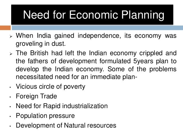 failures of economic planning in india China is developing its economy based on natural resources and cheap labor while india is relying on the he knows that the idea of central economic planning was popularized sergei recognizes that all of the following were reasons why central planning failed except the failure to.